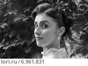 Купить «Макияж невесты», фото № 6961831, снято 18 июля 2013 г. (c) Александра Орехова / Фотобанк Лори