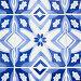 Традиционная плитка с синим орнаментом в Лиссабоне, Португалия, фото № 6962899, снято 13 мая 2012 г. (c) Роман Сигаев / Фотобанк Лори