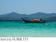 Лодка у берега. Стоковое фото, фотограф Николай Николаенко / Фотобанк Лори