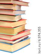 Купить «Книги на белом фоне», эксклюзивное фото № 6974355, снято 5 февраля 2015 г. (c) Юрий Морозов / Фотобанк Лори