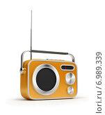 Купить «Радиоприемник в стиле ретро», иллюстрация № 6989339 (c) Anatoly Maslennikov / Фотобанк Лори