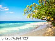 Купить «Maldives beach», фото № 6991923, снято 25 марта 2014 г. (c) Андрей Армягов / Фотобанк Лори