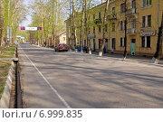 Улица Ильича. Первоуральск (2008 год). Редакционное фото, фотограф М. Гимадиев / Фотобанк Лори