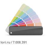Купить «Цветная палитра, 3d-изображение», иллюстрация № 7008391 (c) Anatoly Maslennikov / Фотобанк Лори