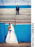 Невеста с букетом (2014 год). Редакционное фото, фотограф Artem Kotelnikov / Фотобанк Лори