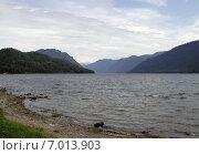Купить «Озеро Телецкое, Алтай», фото № 7013903, снято 19 июля 2018 г. (c) Александр Карпенко / Фотобанк Лори