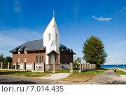 Католическая церковь. Силламяэ. Эстония (2014 год). Стоковое фото, фотограф Александр Щепин / Фотобанк Лори