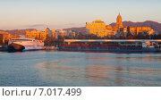 Купить «Malaga from Port in morning», фото № 7017499, снято 5 декабря 2014 г. (c) Яков Филимонов / Фотобанк Лори