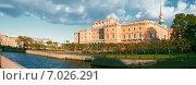 Купить «Махайловский замок», фото № 7026291, снято 25 августа 2013 г. (c) Лукаш Дмитрий / Фотобанк Лори