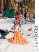 Чучело Масленицы. Стоковое фото, фотограф Анастасия Козлова / Фотобанк Лори