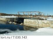 Старый мост. Стоковое фото, фотограф Геннадий Машанин / Фотобанк Лори