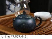 Сервиз для чайных церемоний. Стоковое фото, фотограф Илья Воловиков / Фотобанк Лори