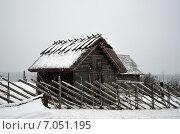 Купить «Деревянные постройки на эстонском берегу Балтийского моря», фото № 7051195, снято 12 января 2014 г. (c) Ивашков Александр / Фотобанк Лори
