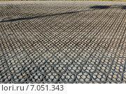 Чугунная мостовая в Кронштадте (2014 год). Стоковое фото, фотограф Андрей Мсхалая / Фотобанк Лори
