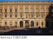 Королевский дворец, Стокгольм, Швеция (2010 год). Стоковое фото, фотограф Roman Vukolov / Фотобанк Лори