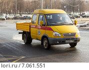 Машина аварийной службы (2015 год). Редакционное фото, фотограф Павел Ерыкин / Фотобанк Лори