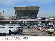 Купить «Павильон № 70 «Москва». Проспект Мира, 119. ВДНХ (ВВЦ)», эксклюзивное фото № 7063703, снято 25 февраля 2015 г. (c) lana1501 / Фотобанк Лори