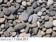 Каменная поверхность.Фон из камней, галька. Стоковое фото, фотограф Юрий Морозов / Фотобанк Лори