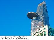 """Купить «Башня """"Битекско"""" в городе Сайгон. Bitexco Financial Tower, Saigon, Vietnam», фото № 7065755, снято 15 января 2015 г. (c) Александр Подшивалов / Фотобанк Лори"""