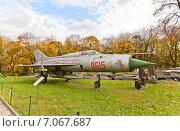 Купить «Советский истребитель МиГ-21 в Музее Войска Польского в Варшаве, Польша», фото № 7067687, снято 20 октября 2014 г. (c) Иван Марчук / Фотобанк Лори