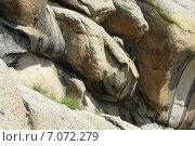 Горы в Монголии. Стоковое фото, фотограф GDB / Фотобанк Лори