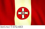 Флаг ку-клукс-клана. Стоковая анимация, видеограф Булат Булатов / Фотобанк Лори