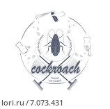 Купить «Иконка с рисунками тараканов», иллюстрация № 7073431 (c) Дмитрий Никитин / Фотобанк Лори