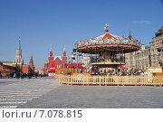 Купить «Красная площадь», фото № 7078815, снято 26 февраля 2015 г. (c) Павел Москаленко / Фотобанк Лори
