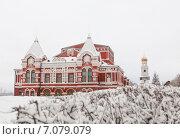 Самарский Драмтеатр зимой (2015 год). Редакционное фото, фотограф Ольга Коркина / Фотобанк Лори