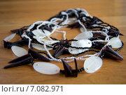 Перламутровые бусы. Стоковое фото, фотограф Мария Алябьева / Фотобанк Лори
