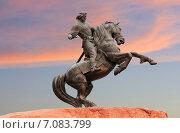 Купить «Рязань, памятник Евпатию Коловрату», фото № 7083799, снято 29 сентября 2014 г. (c) Владимир Приземлин / Фотобанк Лори