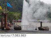 Горячие источники Мае Качан (Mae Kha Chan Hot Springs) в Северном Таиланде (2015 год). Редакционное фото, фотограф Natalya Sidorova / Фотобанк Лори