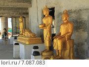 Купить «Статуи Будды в Храме Большого Будды, Пхукет, Таиланд», фото № 7087083, снято 20 февраля 2015 г. (c) Алексей Сварцов / Фотобанк Лори