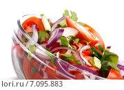 Свежий салат. Стоковое фото, фотограф Андрей Оршак / Фотобанк Лори