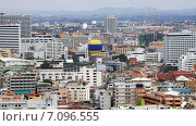 Купить «Панорама города. Вид сверху на Паттайю. Таиланд», фото № 7096555, снято 9 января 2015 г. (c) Chere / Фотобанк Лори