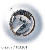 Планета набережной Макарова. Санкт-Петербург (2011 год). Стоковое фото, фотограф Василий Вострухин / Фотобанк Лори