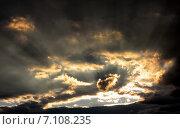 Грозовое небо. Стоковое фото, фотограф Сергей Коровин / Фотобанк Лори
