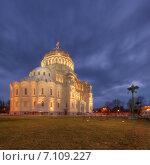 Никольский морской собор в Кронштадте (2015 год). Стоковое фото, фотограф Алексей Марголин / Фотобанк Лори