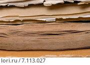 Стопка книг крупно. Стоковое фото, фотограф Marina Kutukova / Фотобанк Лори