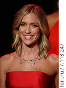 NEW YORK, NY - FEBRUARY 12: Kristin Cavallari walks the runway at the Go Red For Women Red Dress Collection 2015 presented by Macy's fashion show during MBFW Fall 2015 at Lincoln Center on February 12, 2015 in NYC. Редакционное фото, фотограф Anton Oparin / Фотобанк Лори
