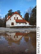 Купить «Весна в Поленово», фото № 7127179, снято 9 марта 2015 г. (c) Андрей Ярцев / Фотобанк Лори