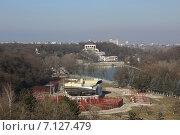 Купить «Вид на городской зоопарк и Курортное озеро, Нальчик», эксклюзивное фото № 7127479, снято 11 марта 2015 г. (c) Алексей Гусев / Фотобанк Лори