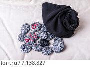 Купить «Руны. Футарк, высеченные на камнях», фото № 7138827, снято 3 декабря 2014 г. (c) Елена Павлович / Фотобанк Лори