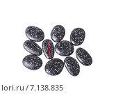 Купить «Руны футарк, вырезанные на натуральных камней», фото № 7138835, снято 3 декабря 2014 г. (c) Елена Павлович / Фотобанк Лори