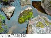 Камни в воде. Стоковое фото, фотограф Александр Широков / Фотобанк Лори