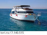Яхта в Красном море (2014 год). Редакционное фото, фотограф Иван Осипов / Фотобанк Лори