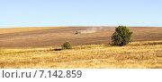 Купить «Типичный русский сельский пейзаж», эксклюзивное фото № 7142859, снято 18 сентября 2014 г. (c) Сергей Лаврентьев / Фотобанк Лори
