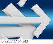 Купить «Стрелки на голубом фоне», иллюстрация № 7154943 (c) Алексей Кашин / Фотобанк Лори