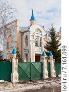 Купить «Вологодская соборная мечеть Аль-Джума», фото № 7161099, снято 11 марта 2015 г. (c) Николай Мухорин / Фотобанк Лори