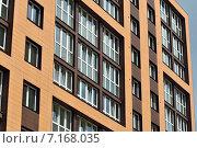 Купить «Фрагмент новостройки», фото № 7168035, снято 21 января 2014 г. (c) Сергей Трофименко / Фотобанк Лори